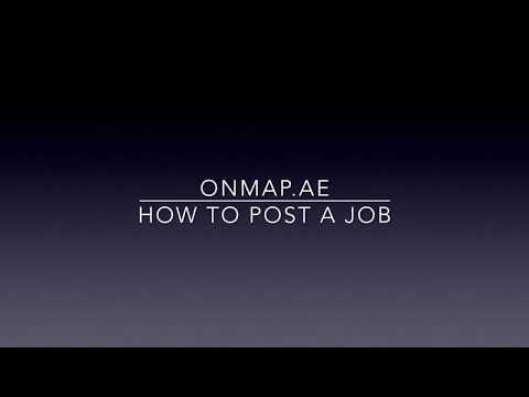 How to Post Jobs in UAE