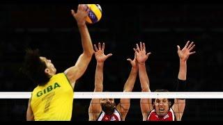 Giba - Mejores jugadas del mejor jugador del mundo de voleibol