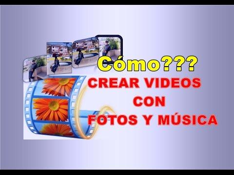 Como crear videos con fotos y música fácil y muy rápido