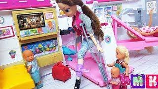ДОИГРАЛСЯ МАКС? Катя и Макс новые серии семейки кукол Даринелка мультики