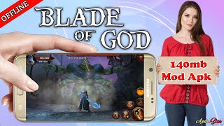 Download Blade-Of-God Mod apk!! |Unlimited Money Mod|Offline|Hd Gameplay|by Androstar