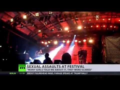 Up to 50 girls report sexual harassment at Swedish music festival
