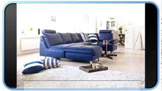 Blue Modern Furniture Showroom