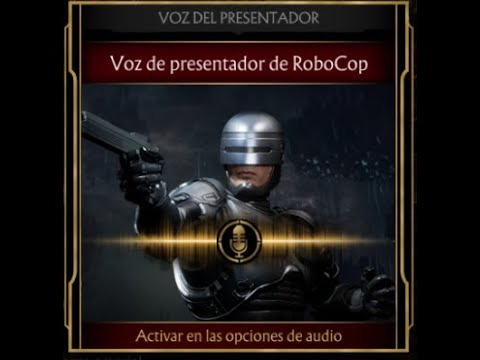 Mortal Kombat 11 – Voz de presentador de Robocop – Español Latino.