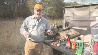 Deer Hunting 101: Scent elimination and cover scents