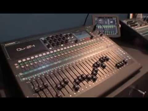 ALLEN & HEATH Qu Mixers - NAMM 2014 - TMNtv Booth Tour