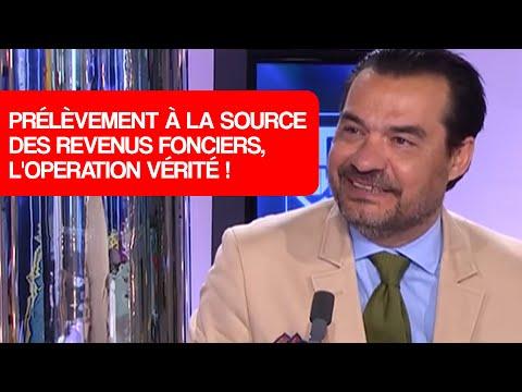 Prélèvement à La Source Des Revenus Fonciers, L'operation Vérité!