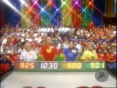 the price is right december 2003 full episode bob barker canadian commercials youtube. Black Bedroom Furniture Sets. Home Design Ideas