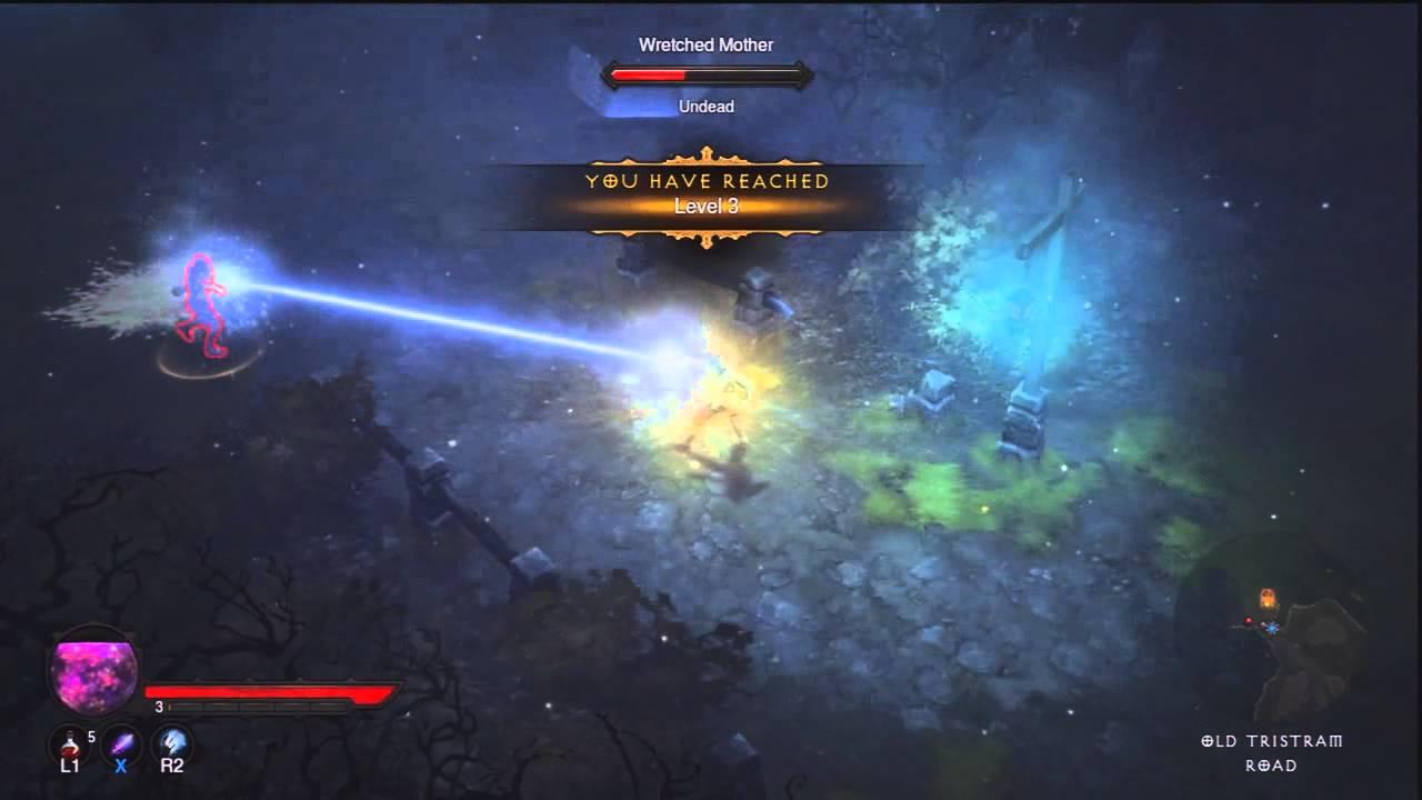 Diablo 3 on Ps3 : Wizard Run [2] - Onward to Adventure!