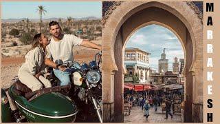 We spent Desi's birthday in Marrakech