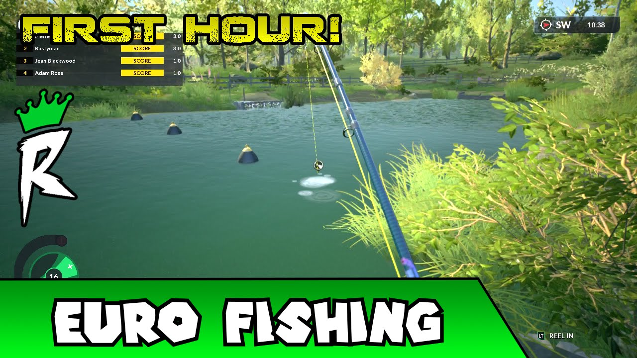 Let 39 s play dovetail games euro fishing first hour for Dovetail games fishing