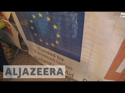 EU withdraws funding for refugee aid agencies
