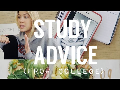 Vlogmas: STUDY TIPS (Exam Week Day in my Life)