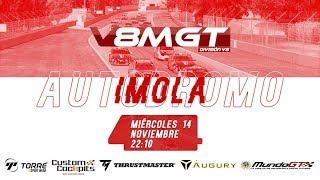 iRacing || V8 MundoGT 2018 @ Imola GP onboard