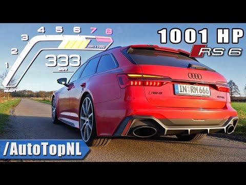 1001HP AUDI RS6 C8 MTM *0-333KMH* ACCELERATION & SOUND by AutoTopNL