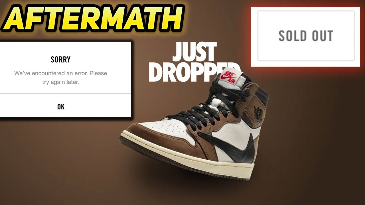 Travis Scott Jordan 1 Release Aftermath | Cactus Jack 1's