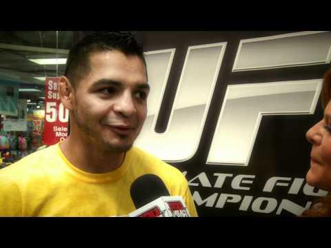 Leonard Garcia interview - UFC on FX  3