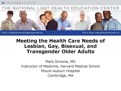 Meeting the Health Care Needs of Lesbian, Gay, Bisexual, and Transgender Older Adults Edited
