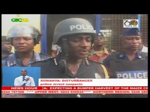 Residents Clash With Police Over Ecg In Somanya