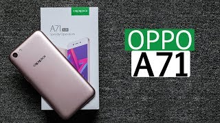 OPPO A71: Unboxing | Hands on | Price Rs 9,990 [Hindi हिन्दी]