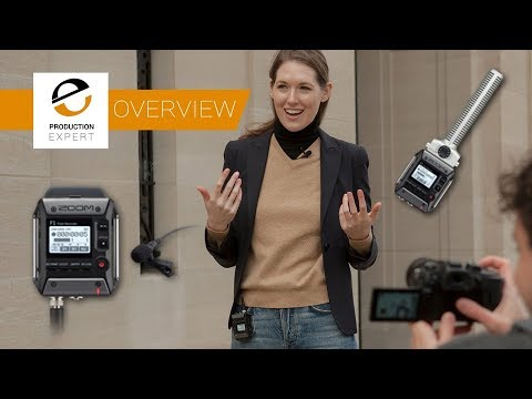 Overview - Zoom F1 Field Recorder At BVE 2018