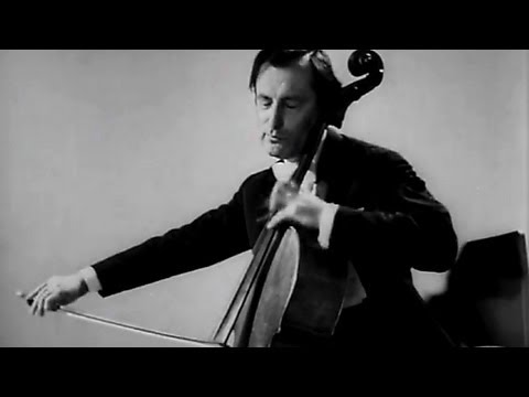 Rachmaninoff - Vocalise Op. 34 Nº 14 | Shafran, Cello, Ginzburg, piano