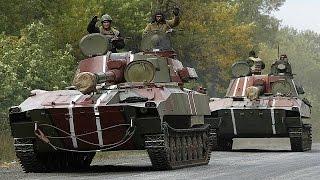 """Artiglierie in ritirata da Donestk, si crea la """"zona cuscinetto"""""""