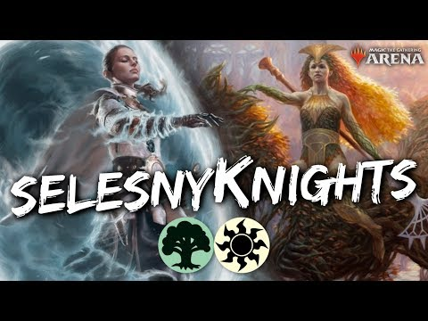 SelesnyKnights (Standard) [MTG Arena] | GW Knight Tribal Tokens Deck In ELD Standard