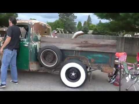 Rambling Rods Car Show and Cruise!! Big Boy Alpena Michigan 2017
