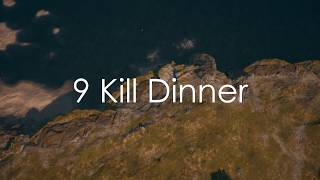 Xbox PUBG Highlight | 9 Kill Chicken Dinner