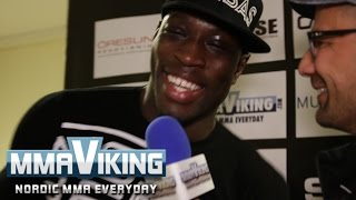 Sadibou Sy Post Fight Interview