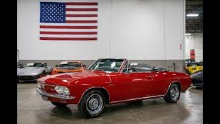 1966 Chevrolet Corvair Corsa Test Drive
