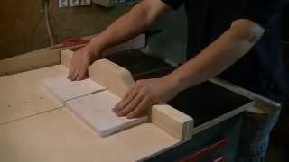 Building A Crosscut Sled - Eigenbau Schiebeschlitten
