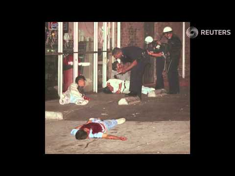 Koreatown during the 1992 riots   Rough Cuts