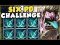 6 PHANTOM DANCERS ON MUNDO IN ONE GAME?? 6 PD MUNDO CHALLENGE! MUNDO TOP GAMEPLAY! League of Legends