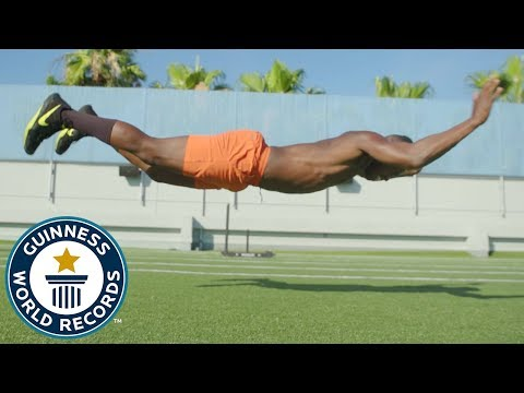 Raneir Pollard: High-heeled burpees! - Meet The Record Breakers