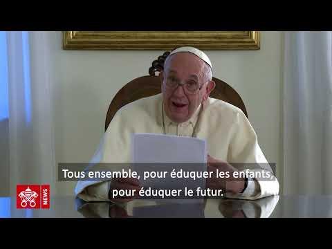 Message du Saint-Père à l'occasion du lancement du Pacte éducatif