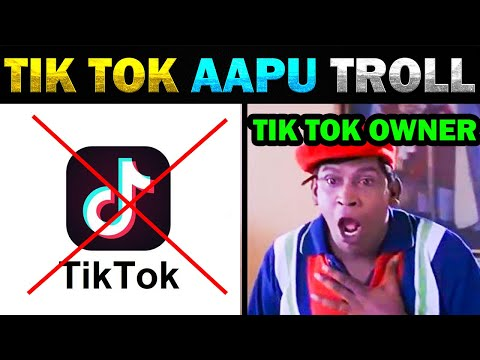 TIK TOK AAPU | RATING DOWN IN INDIA TROLL – TODAY TRENDING