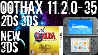 Complete Tutorial! How To HomeBrew Your 2DS 3DS and New 3DS XL On 11.2.0-35 - OOTHAX Tutorial