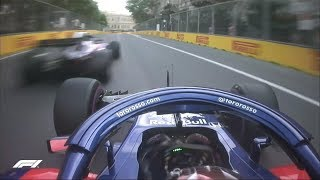 Toro Rosso Near Miss in Qualifying | 2018 Azerbaijan Grand Prix