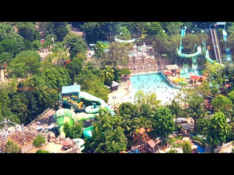 Adventure Cove Waterpark Full Tour Singapore Resorts World Sentosa Island 2019, Dolphin Bay & Slides