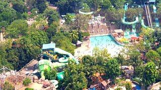 Adventure Cove Waterpark Full Tour Singapore Resorts World Sentosa Island 2019, Dolphin Bay & Slides