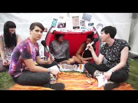 Bring Me The Horizon inTENTerview At Reading With Dan & Phil