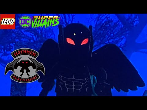 LEGO DC Super Villians - How To Make Mothman From Point Pleasant