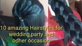 10 amazing Hairstyles for wedd…