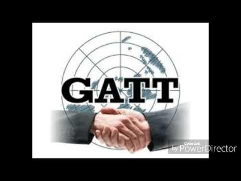 International business  GATT & WTO
