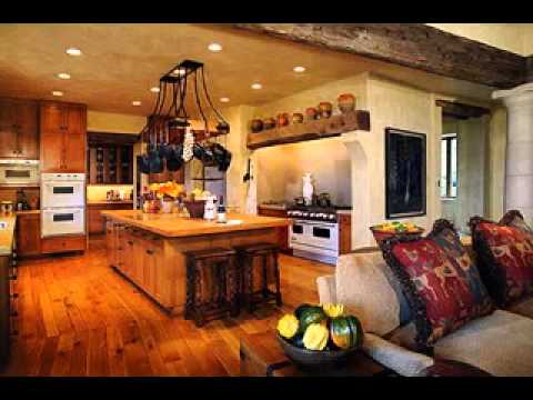 Tuscan home decorating ideas - YouTube