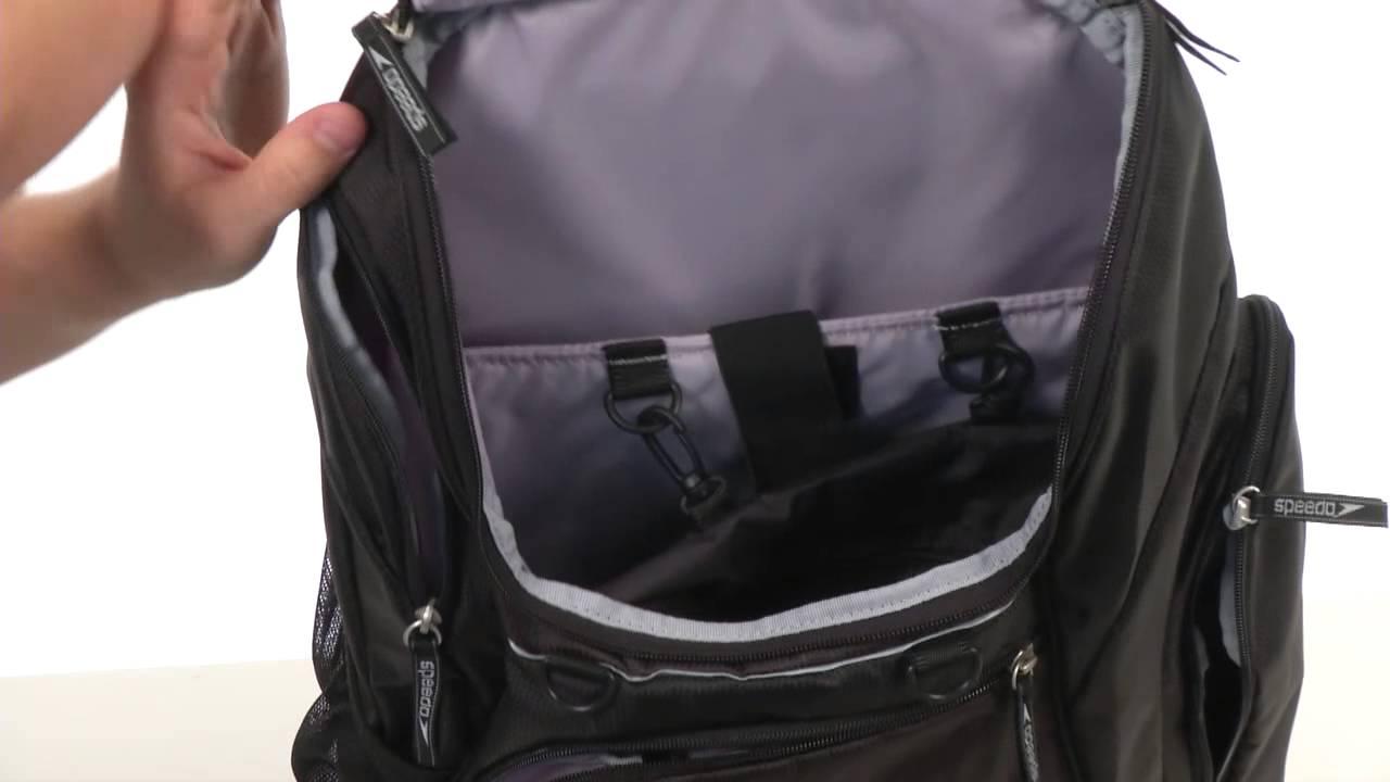 24256ada1fe3 Speedo Teamster Backpack 35L SKU:8243109 - YouTube
