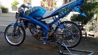 Motor Trend Modifikasi | Video Modifikasi Motor Yamaha Vixion Drag Style Terbaru