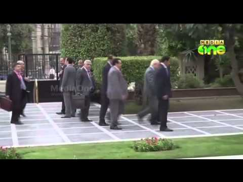 Hamas delegation in Cairo for Gaza talks